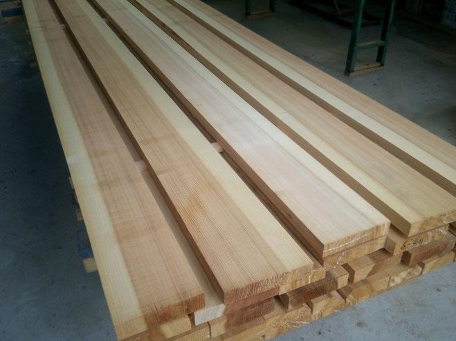 杉の柾目材
