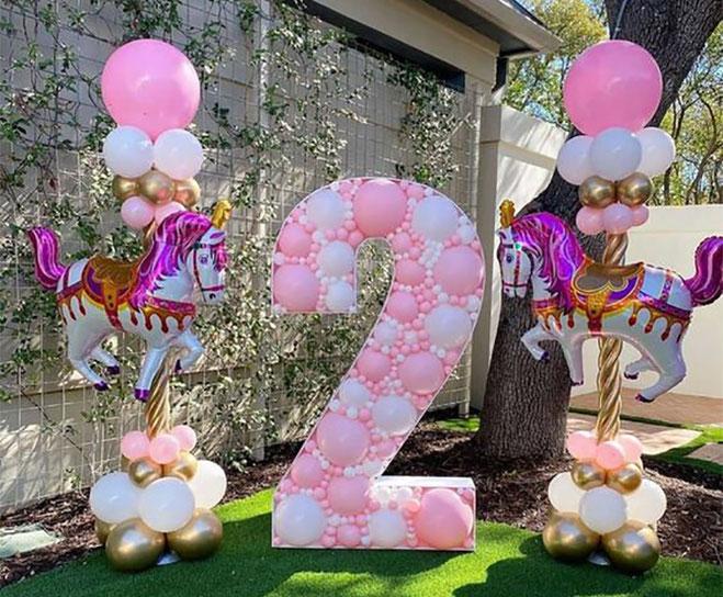 decoracion para niña 2 años