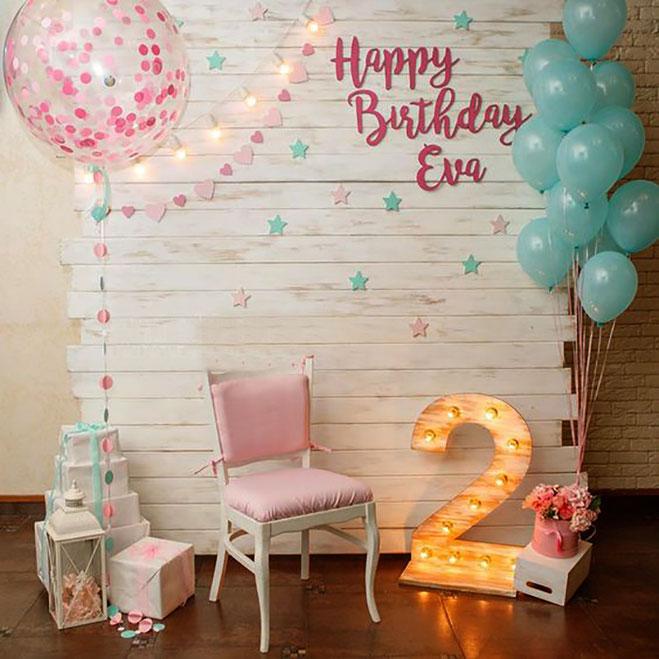 cumpleaños de niña 2 años en casa