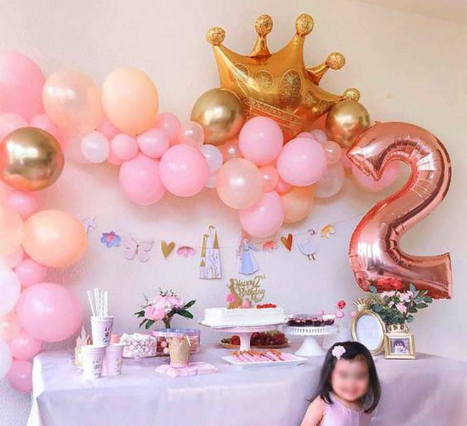 cumpleaños princesas niñas 2 años