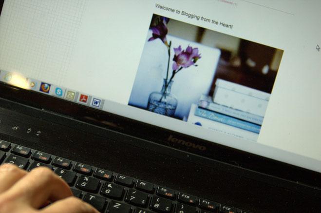 (c) Susanne Rieger  Mein erster öffentlicher Blogeintrag - My first published blog post