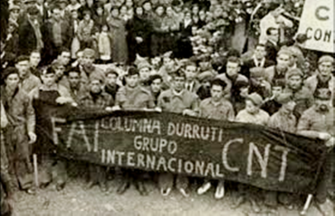 Kolonne 'Durutti's internationale gruppe