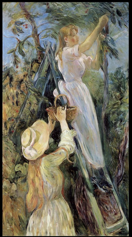 ベルト・モリゾ《サクランボ》1891年