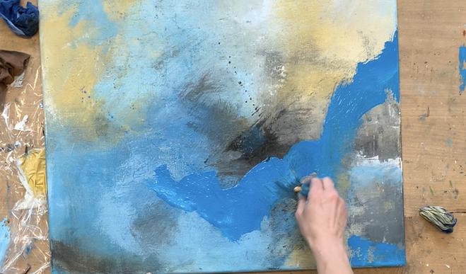 abstrakt malen lernen ganz einfach