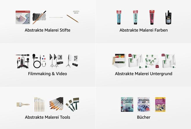 Hier sind Produkte die ich empfehlen kann. So kannst du einfach im Shop bestellen