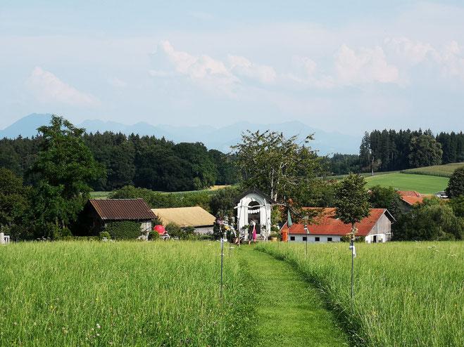 Idyllische Hochzeits-Lokation: Der Knallerhof am Güßhübel
