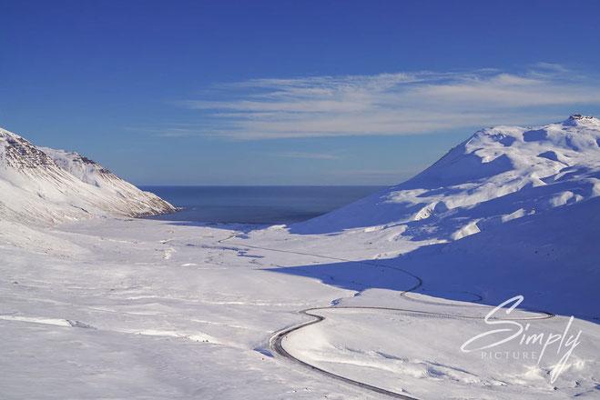 blauer Himmel, Iceland
