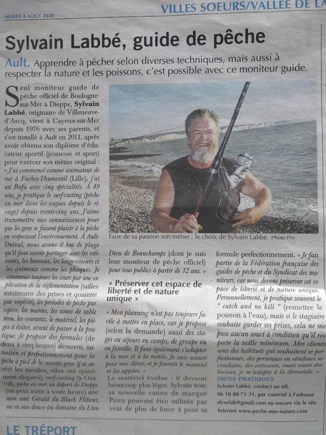 Journal Paris Normandie du 4/8/20