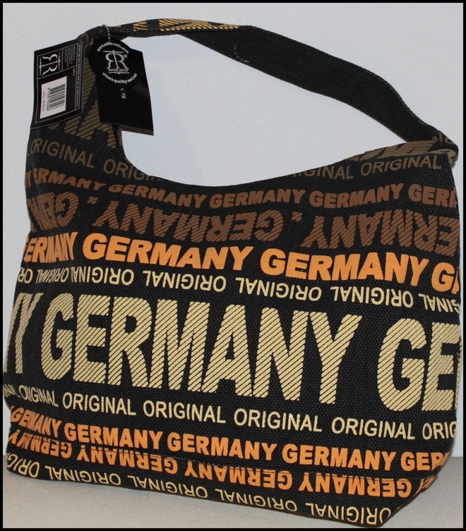 "Große Schultertasche Germany ""urban style"""