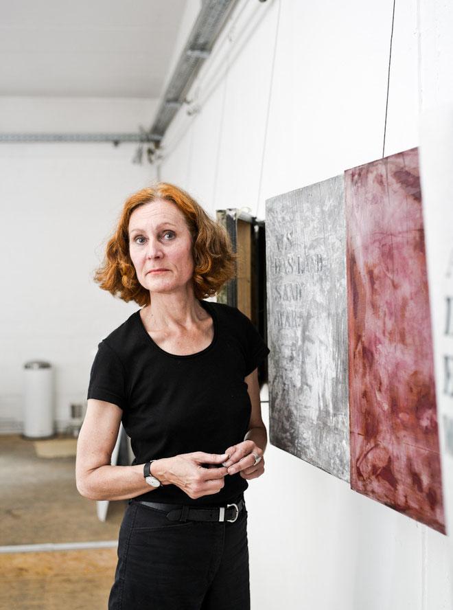 Iris Albrecht / Künstlerin (c) Christian Geisler