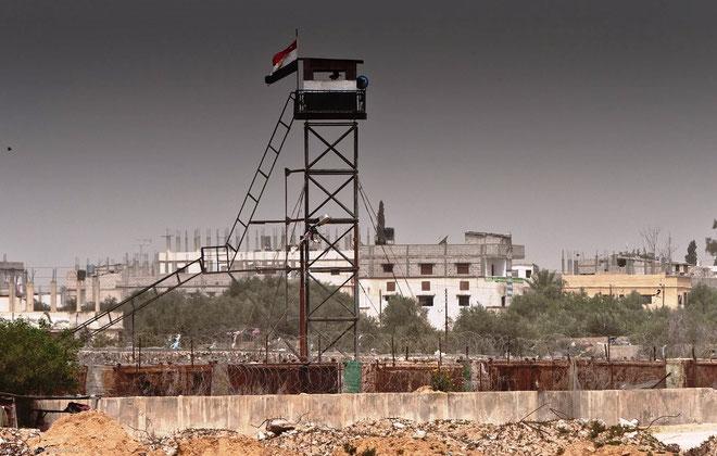 Grænseovergangen Rafah mellem Ægypten og Gaza-striben