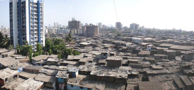 """""""Favela"""" (slumkvarter)  i Rio de Janeiro"""