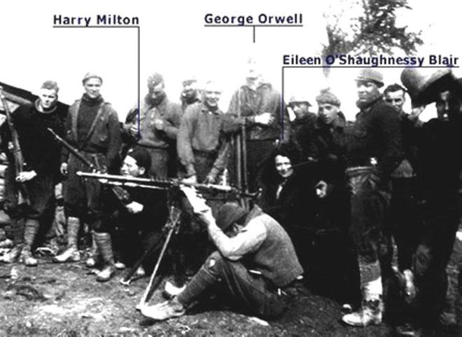 Militante fra den venstremarxistiske POUM - brigade