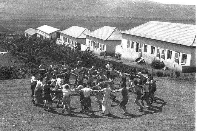 "KIBBUTZ ""EIN HAROD"" i 1936"
