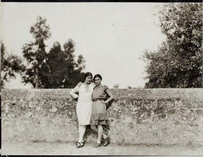 Tina Modotti og billedkunstneren Frida Kahlo
