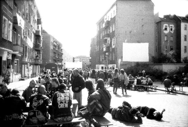 Friedrichshain i 1990' erne @ Foto Marko Krojac