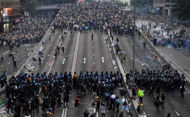 Den folkelige opstand i Hongkong - 2019