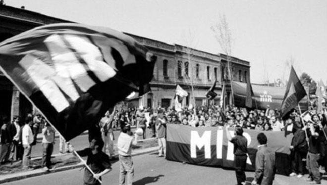 MIR - demo i Santiago de Chile i 1960'erne