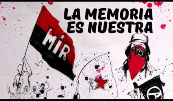 "Chiles venstreradikale parti ""Movimiento de Izquierda Revolucionaria"" (MIR)"
