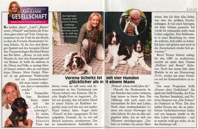 Die ganze Woche: Bernhrad Kainz mit Verena Scheitz