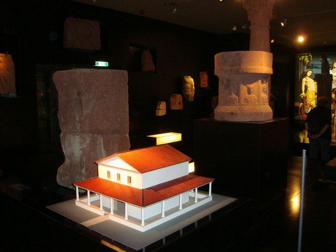 Im Römermuseum Osterburken - Foto: Karl-Heinz Nitschke, Mögglingen