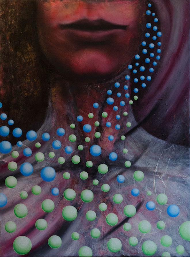 картина для интерьера, художник ольга дрозд, абстракция, современный художник, сфера, портрет,  contemporaryart, современное искусство