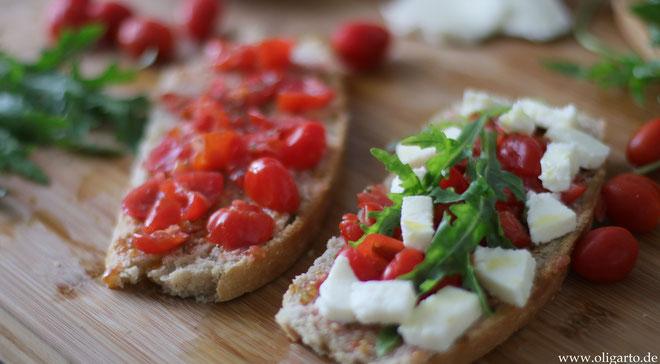 Pane e pomodoro Oligarto Olivenöl Rezepte