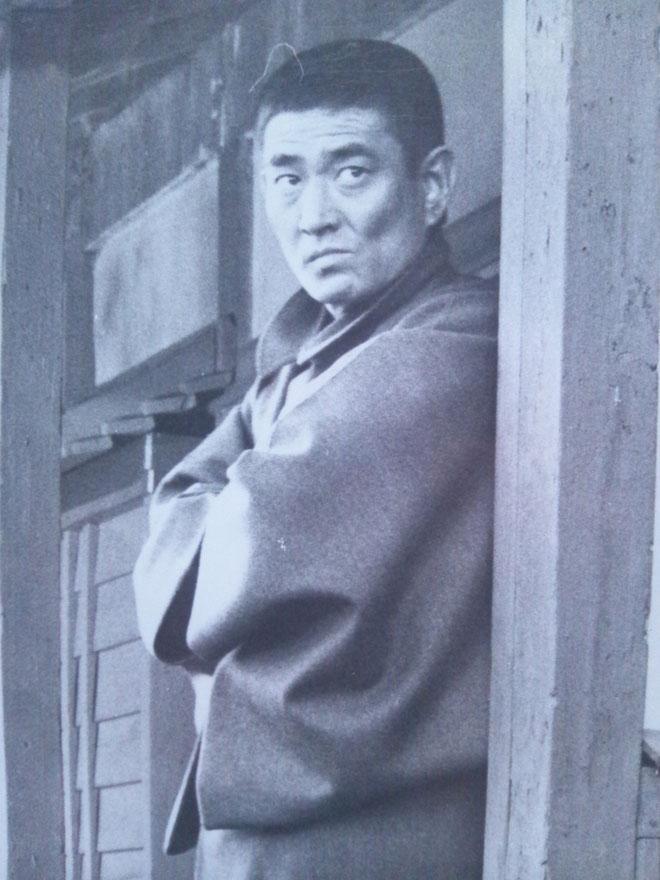 三代目山口組「田岡一雄」演ずる「高倉健」