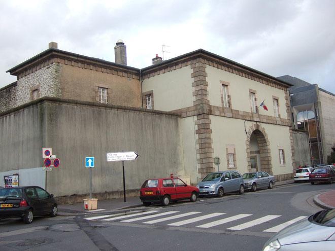 La Maison d'arrêt de Cherbourg