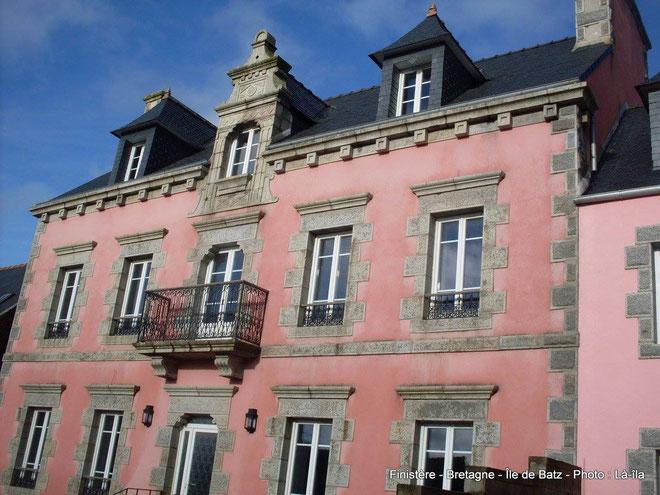 L'hôtel Ker Noel à l'île de Batz (Photo Chantal Brironeau-Cabioch)