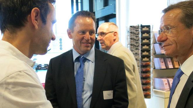 Reto Kluker im Gespräch mit Hans Mosotti