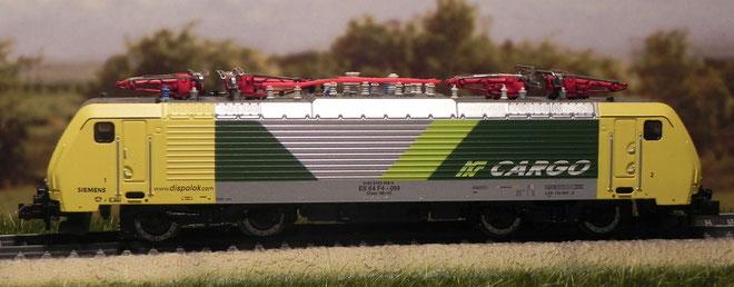 E 169 Cargo - Ferrovie Nord Milano - Minitrix - 12164