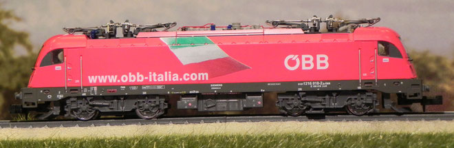 E190 018 - Italia - Hobby Train - H2716