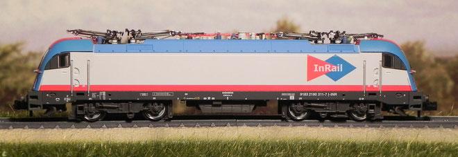 E190 311 - In Rail - Fleischmann - 731201