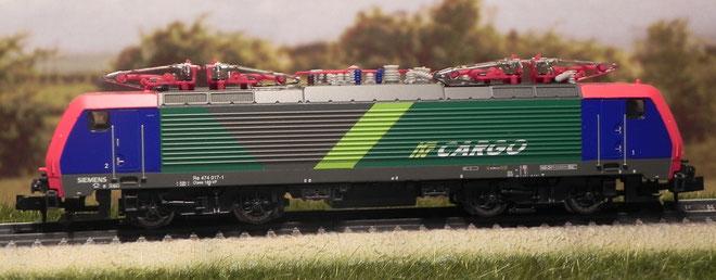 E 189 Cargo - Ferrovie Nord Milano - Minitrix