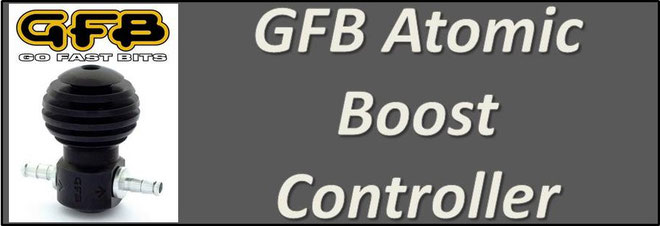 GFB Atomic Boost Controller NZ - Manual Boost Tee - Boost Tap NZ