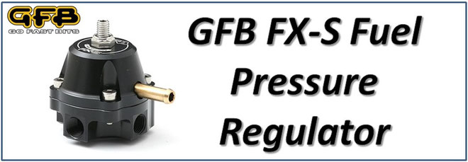 GFB FXS FX-S Fuel Pressure Regulator NZ