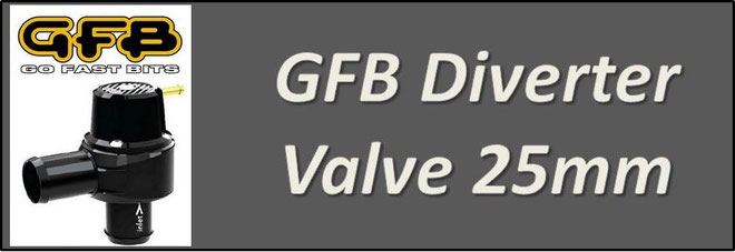 GFB T9301 Diverter Valve - Bosch Replacement 25mm Valve