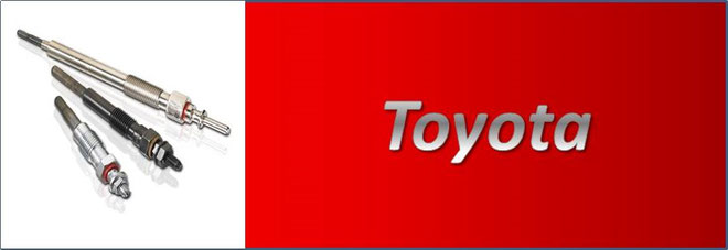 Toyota Diesel Glow Plugs NZ Hilux, Hiace, Dyna, Liteace, Corolla, Landcruiser, Prado