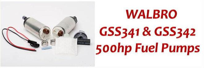 Walbro 500hp Fuel Pump - Walbro GSS341 & GSS342 High Pressure Intank Fuel Pump