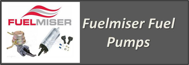 Fuelmiser Fuel Pumps - Mechanical, Electrical, Lift Pump, In Tank, External, Low Pressure High Flow & High Pressure