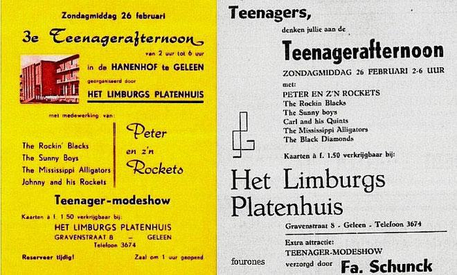"""Een van de evenementen georganiseerd door """"Het Limburgs Platenhuis"""""""