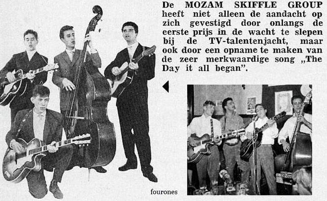 muziek Parade augustus 1960