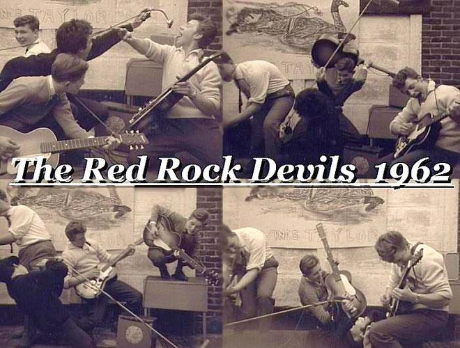 """Met nog wat zelfgebouwde boxen en een(zang) versterker, kan het """"rock""""werk beginnen !"""