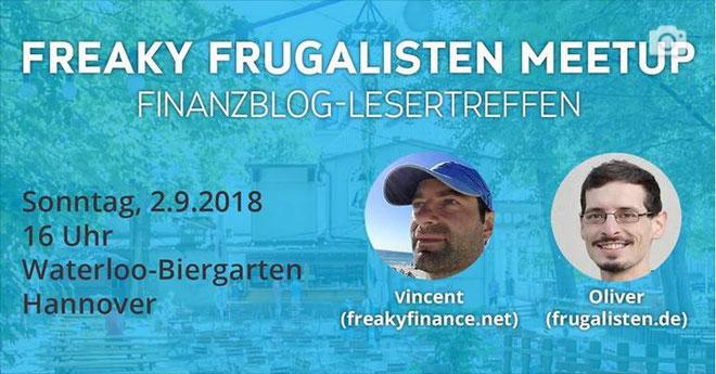 freaky finance, Frugalisten, Finanzblog-LEsertreffen HAnnover, freaky Frugalisten Meetup
