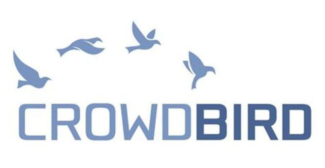 Crowdbird, freaky finance, P2P-Plattformen, Immobilien-Crowdinvesting Plattformen, kostenloser P2P- und Immobilien-Crowdinvesting Plattform Vergleich, Vögel, Logo, Schriftzug