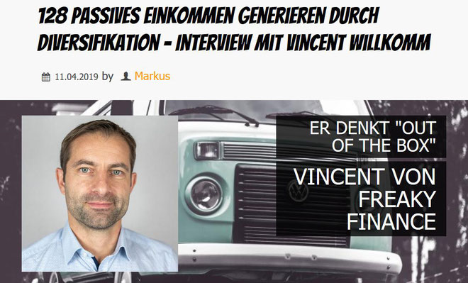 freaky finance, Panzerknacker, Podcast, Passives Einkommen generieren durch Diversifikation, Interview