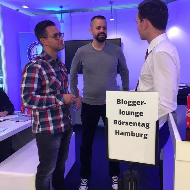 freaky finance, Börsentag Hamburg, Bloggerlounge, Luis Pazos