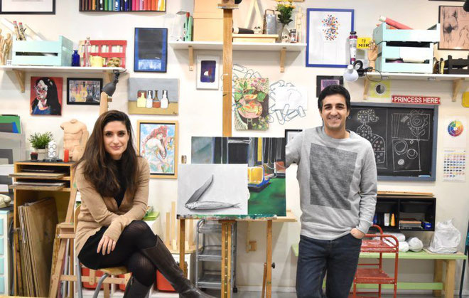 Ana y Rodrigo son los fundadores de Pentimento