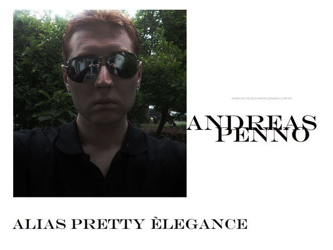 Portrait Andreas Penno / Photographically Chiseled & Curated / Sunglasses / In Front Of my Yard